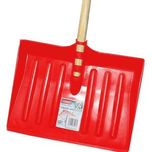 Heavy Duty Snow Shovel Black