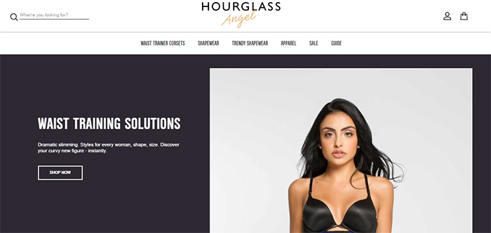 hourglass angel shop