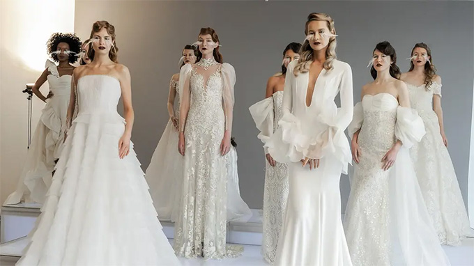 Best Wedding Dress Trends From Bridal Fashion Week Fall 2020