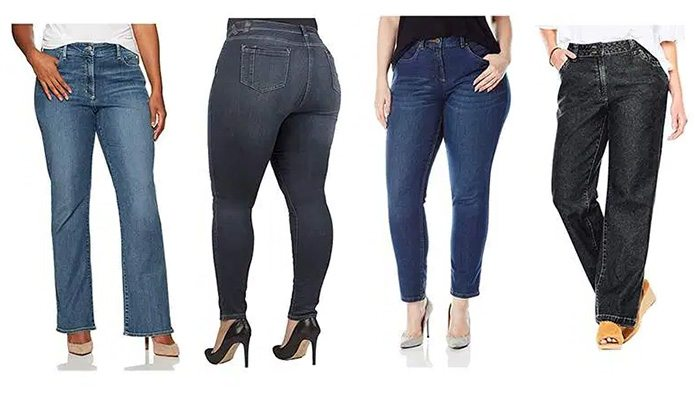 Plus Size Fashion Bloggers Share Their Top-Rated Jeans