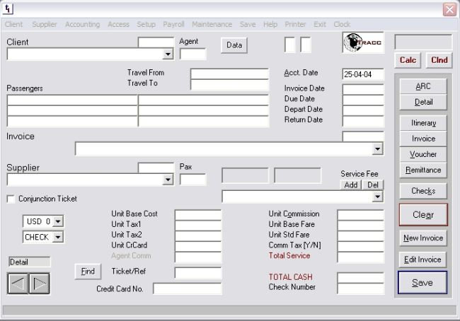 Tracc Invoice Entry Download