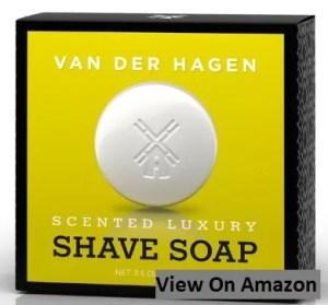 Van Der Hagen Men's Luxury Scented Soap