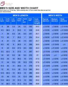 Men shoe width chart   size also use the and get your perfect rh bestshoesstretchers
