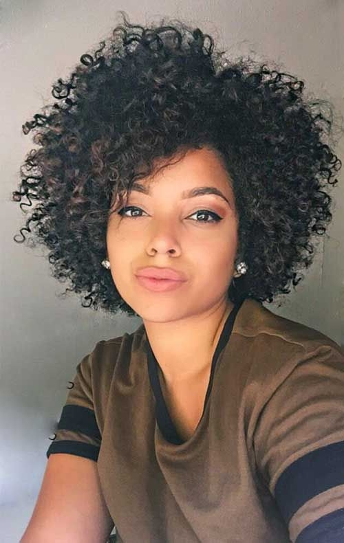 Natural Curly Hairstyles For Black Women Best Short Hairstyles