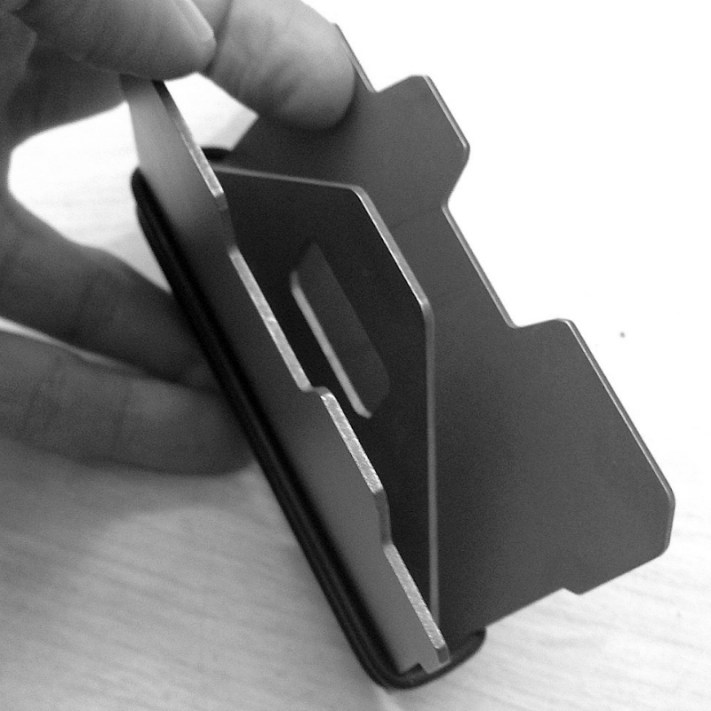 Obstructures A3 Aluminum Plate Wallet