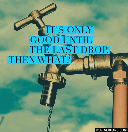 50+ Extremely Catchy Save Water Slogans and Slogans on Water Conservation