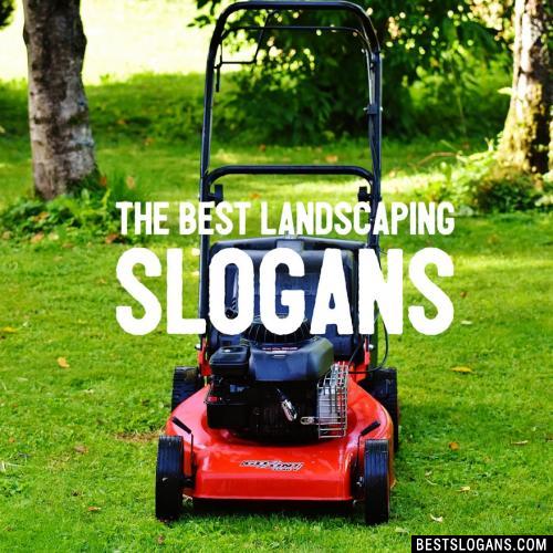 clever gardening slogans - garden