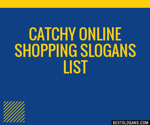 30 catchy online shopping