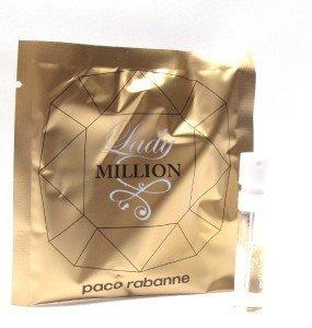 Lady Million By: Paco Rabanne 0.04 oz EDP, Women's Sample-Vial