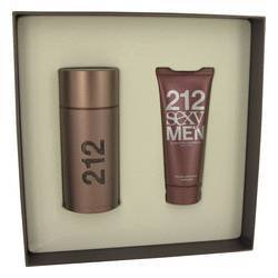 Carolina Herrera Beauty Gift 212 Sexy Cologne Gift Set 3.4 oz Eau De Toilette Spray Plus 3.4 oz After Shave Moisterizer for Men