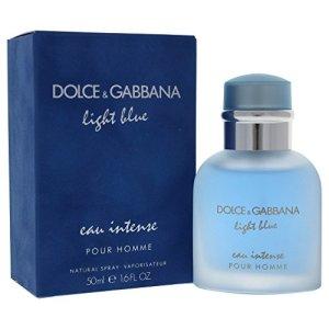 Dolce & Gabbana Light Blue Intense Eau de Parfum Spray for Men, 1.6 Ounce