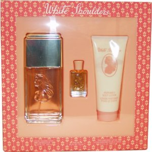 Evyan White Shoulder 3 Pcs. Gift Set for Women