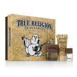 True Religion Fashion for the Senses 3 Piece Gift Set for Men *NIB*