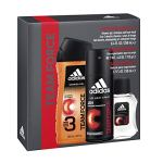 Adidas Fragrance Team Force 3-Piece Gift Set With 8.4-Ounce Body Wash, 1.7-Ounce Eau De Toilette, And 4-Ounce Deodorant Body Spray, 1.5068595600000001 Pounds