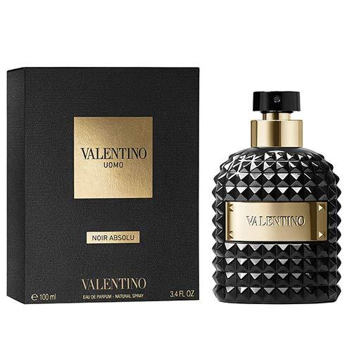 Valentino Uomo Noir Absolu For Men Eau de Parfum 3.4 Oz