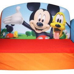 Mickey Mouse Clubhouse Flip Open Sofa With Slumber Bed Protector Argos The Best Marshmallow Kids Review