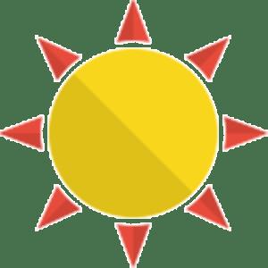 Best Solar Control sun favicon