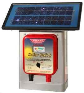 Parmak DF-SP-LI Solar Fence Charger
