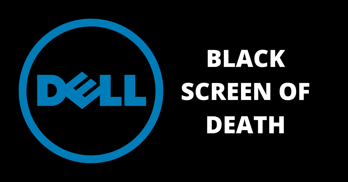 Dell laptop black screen