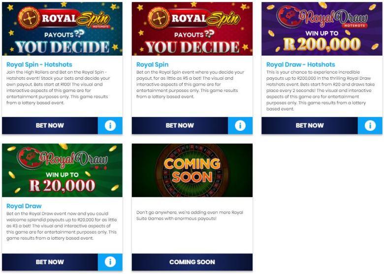 lottostar games list