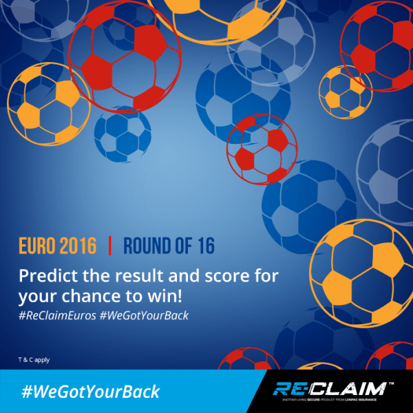 Re-Claim Euro 2016 'Pick the Score' Competition