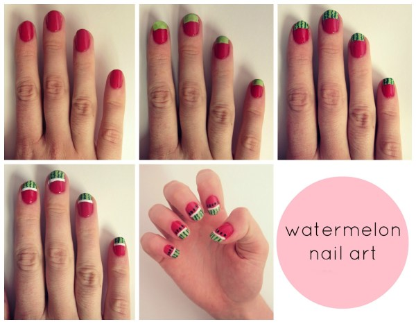 Easy Nail Art Design Beginners - Step Tutorials