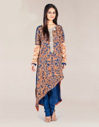 Latest Silk Tunic Dresses Designs For Girls 2017 ...