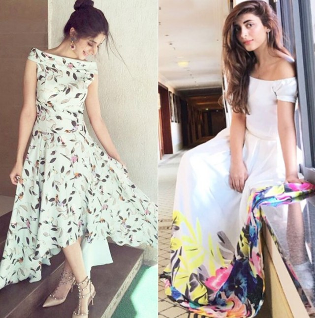 Image result for 7.New off the shoulder fashion in Pakistan