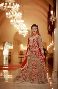 New Barat Dresses Designs For Wedding Brides 2018 ...