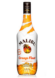 Malibu orange float rum - Copy
