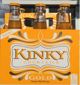 Kinky Gold Cocktails