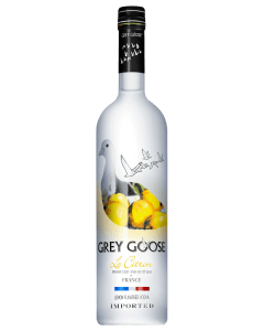 Grey Goose Le Citron vodka - Copy