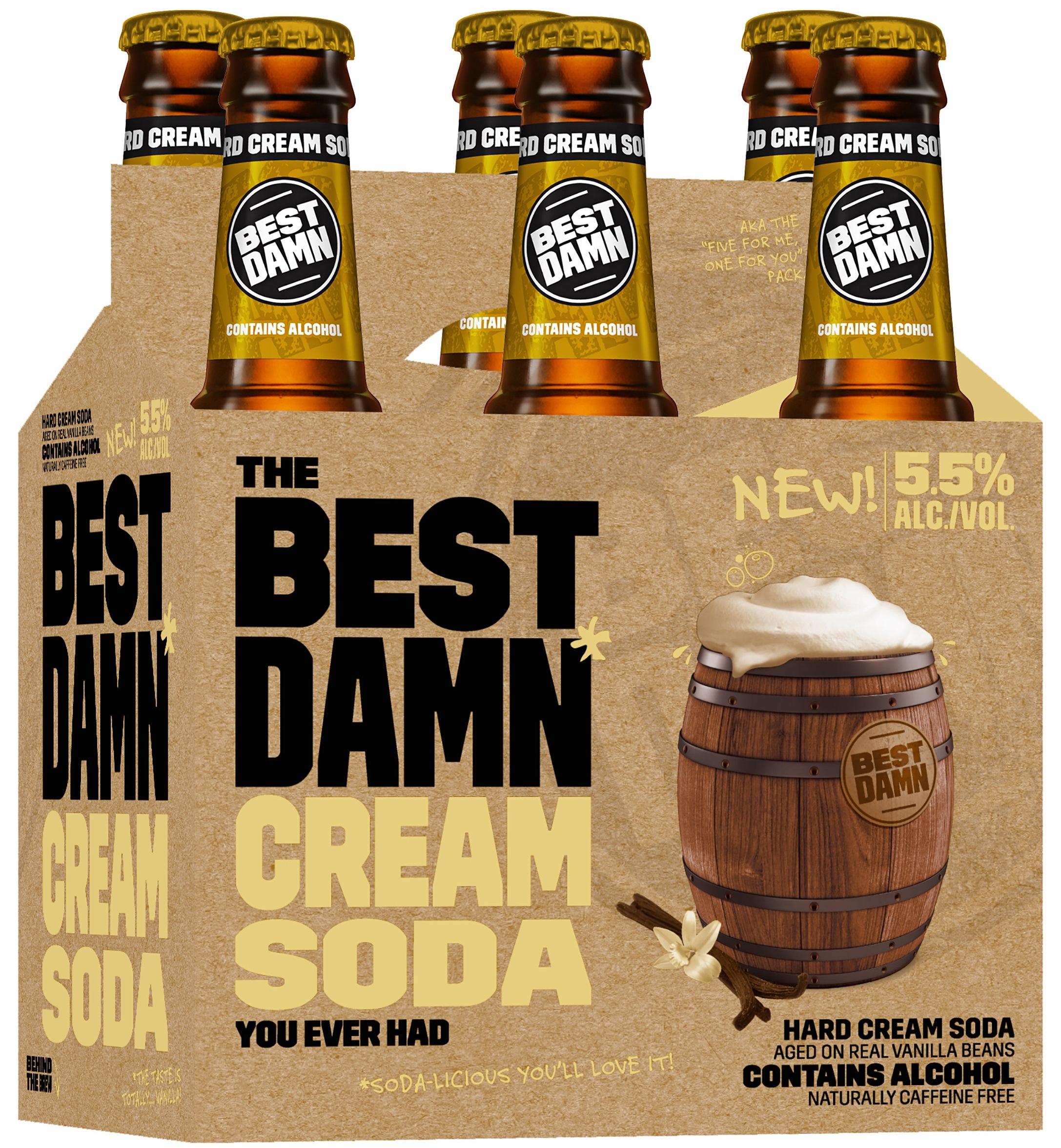 Review: Best Damn Cream Soda - Best Tasting Spirits | Best ...