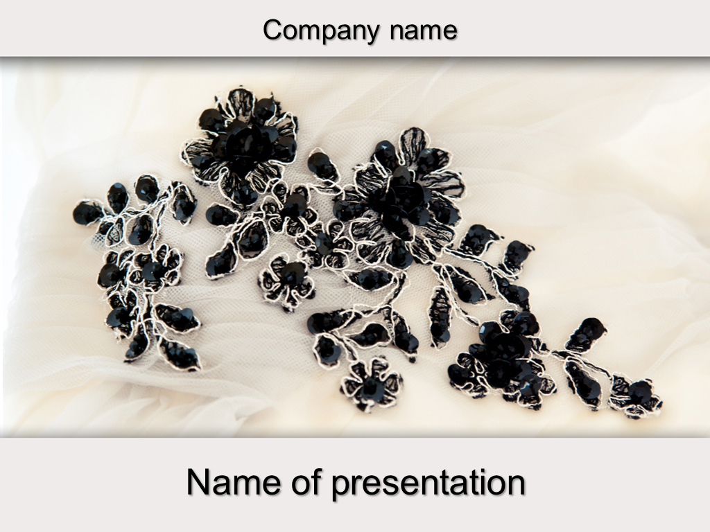 Download free Stone Flowers powerpoint template for your