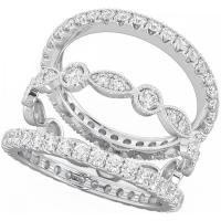 eternity wedding ring sets | Wedding
