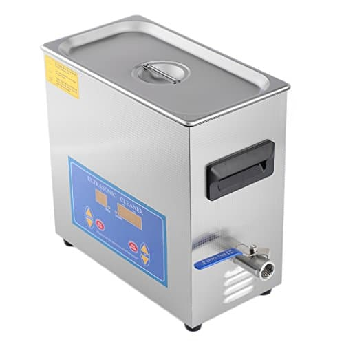 Homgrace Commercial Ultrasonic Cleaner with With Heater And Digital Control for Jewelry Watch Glasses Cleaner (6 L)