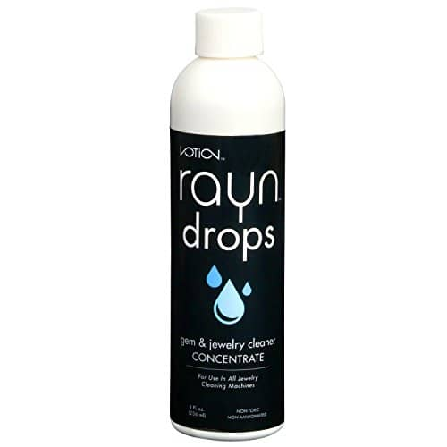 Rayn Drop Ultrasonic Liquid Jewelry Cleaning Solution Concentrate (1 Pack)