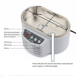 0.6L Ultrasonic Cleaner for Cleaning Eyeglasses, Necklaces, Rings, Hospital and Dental Clinic