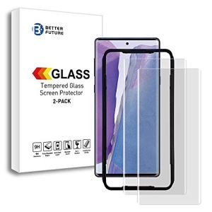 Better Future Glass Note 20 Ultra Screen Protector[Solution for Ultrasonic Fingerprint]3D Tempered Glass for Note 20 Ultra
