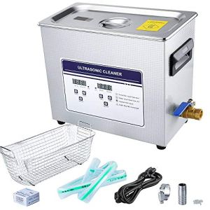 Anbull 6.5L Professional Lab Ultrasonic Cleaner with Timer Digital for Cleaning Jewelry Glasses Watch Small Parts Circuit Board Instrument, Commercial Electric Ultrasound Clean Machine(110V)