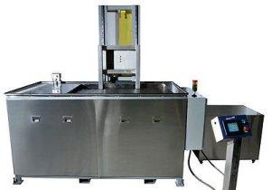 SHARPTERTEK Automatic Ultrasonic Cleaner Power Lift With Agitation 40 Gallon