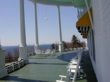 Grand Hotel Mackinac Island Front Porch