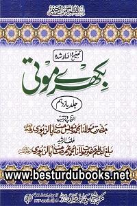 Bikhray Moti 12 Volumes By Maulana Muhammad Yunas Palanpuri بکھرے موتی