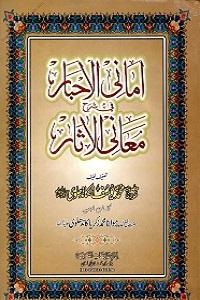 Amani ul Akhbar Sharh Maani ul Asaar امانی الاخبار فی شرح معانی الآثار