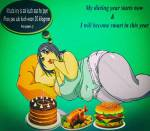Funny Poetry on Dieting by Noor Akhter