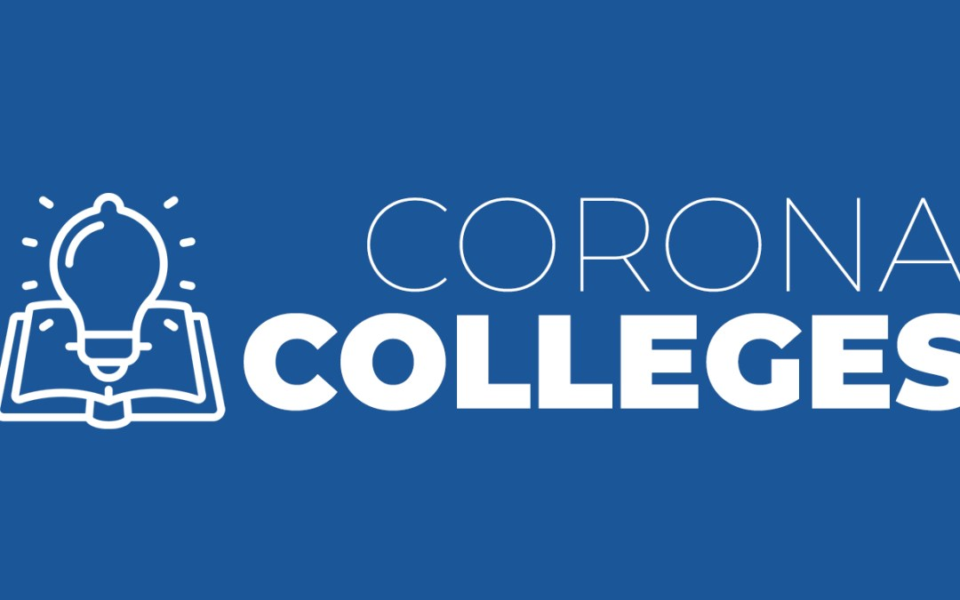 "De VB presenteert ""Corona Colleges"""