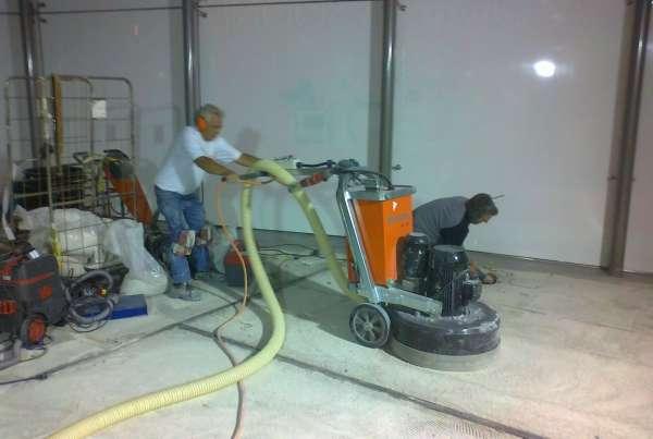 Het verwijderen van vloeren