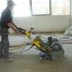 Coating verwijderen – vloercoating verwijderen van beton