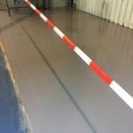 Industriële gietvloer Brabant Alucast in Oss