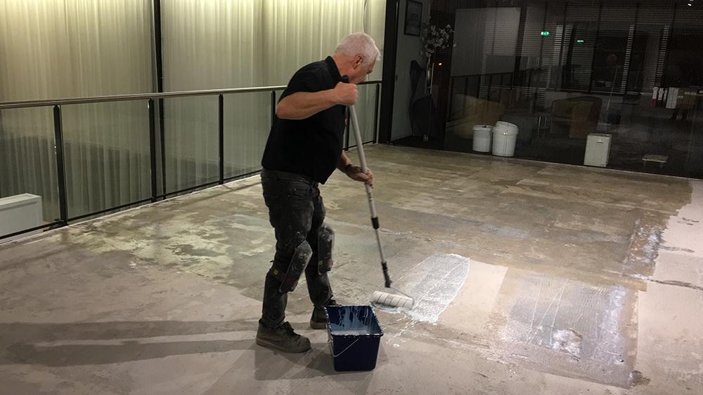 Cementgebonden gietvloer Arnhem bij Succes op Maat Best Vloerrenovatie Best Building Service B.V.
